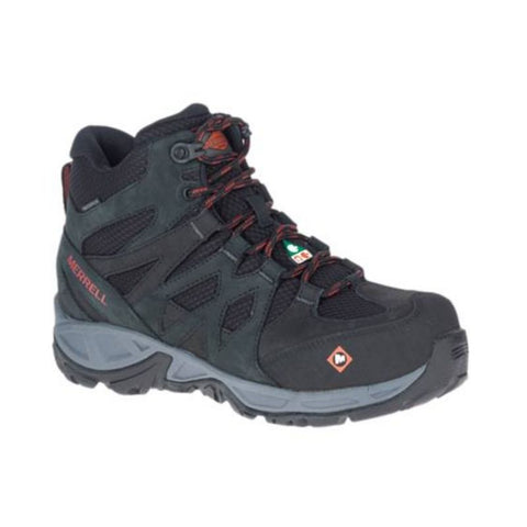 Merrell Siren Mid Women's Waterproof Alloy Toe Work Boot  - J099354
