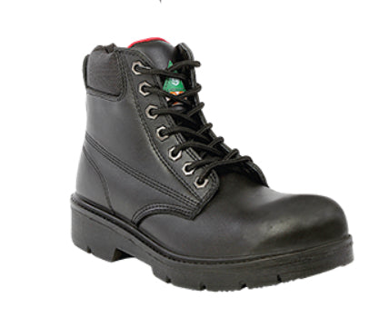 "Moxie Alice Women's 6"" Black Steel Toe Work Boot - Black"