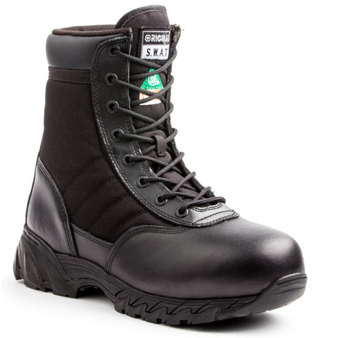 "SWAT Classic 9"" Safety Men's Composite Toe Work Boot"