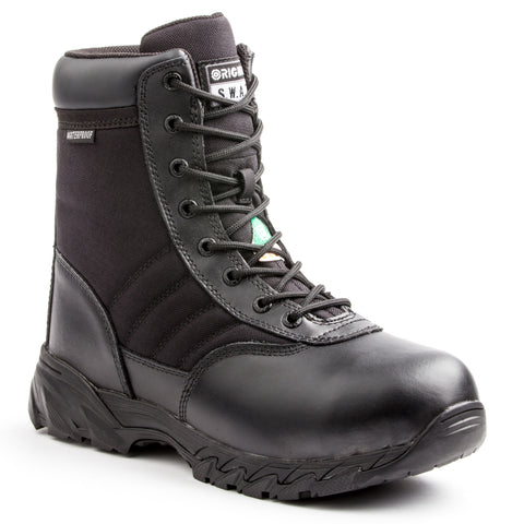"SWAT Classic 227201 9"" WP SZ Safety Men's Composite Toe Work Boot"