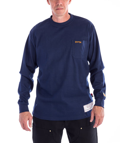 Pioneer FR Long Sleeve T-Shirt in navy