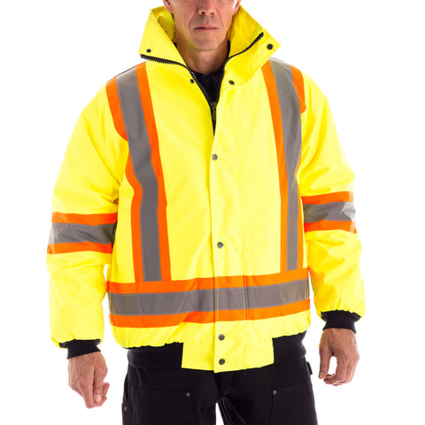 Put It On 3-in-1 Winter Traffic Jacket full outer