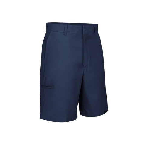 Red Kap Mens Cell Phone Pocket Work Shorts Front Navy