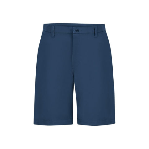 Red Kap Men's Utility Work Short Navy Front