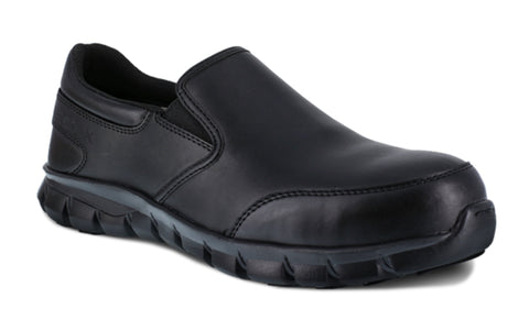 Reebok Work Unisex Composite Toe Slip On Sublite Work Shoe