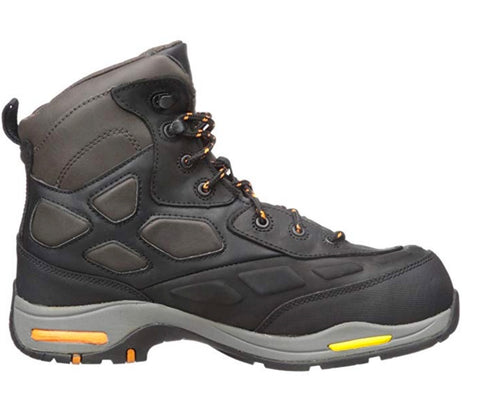 Rockport Works Men's Propel Waterproof Composite Toe Athletic Hiker - Black
