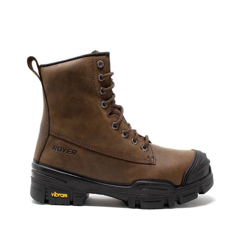 "Royer Ventura Men's 8"" Composite Toe Work Boot With Vibram Arctic Grip 6020VTAG"