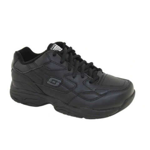 Skechers Felton Men's Slip Resistant Work Shoe 77032 -  Black