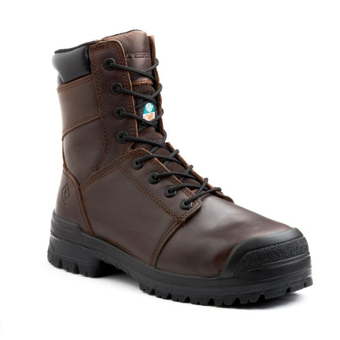 "Terra Contractor Men's 8"" Composite Toe Safety Work Boot TR0A4NQZBRN"