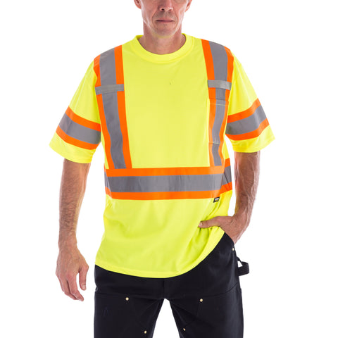 Terra Hi-Vis Short Sleeve T-Shirt