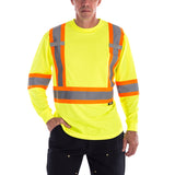Terra Hi-Vis Short Sleeve T-Shirt in yellow