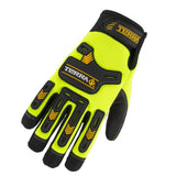 Terra Hi-vis Impact Performance Gloves front 78914TR