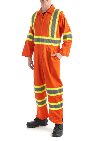 Terra High Visibility Unlined Coverall