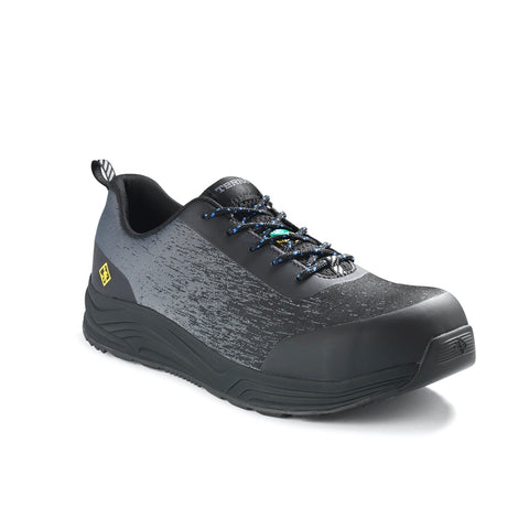Terra Monolift Men's Composite Toe Athletic Safety Shoe TR0A4NQHDBL - Grey/Black
