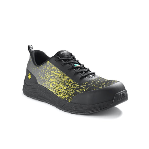 Terra Monolift Men's Composite Toe Athletic Safety Shoe - Yellow/Black