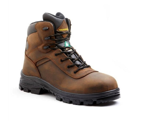 Terra Quinton Men's Composite Toe Hiker Work Boot - Brown