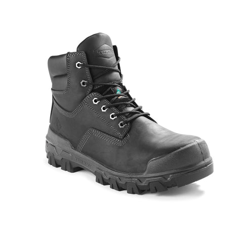 "Terra Sentry 2020 Men's 6"" Composite Toe Work Boot With Bumper Toe - Black"