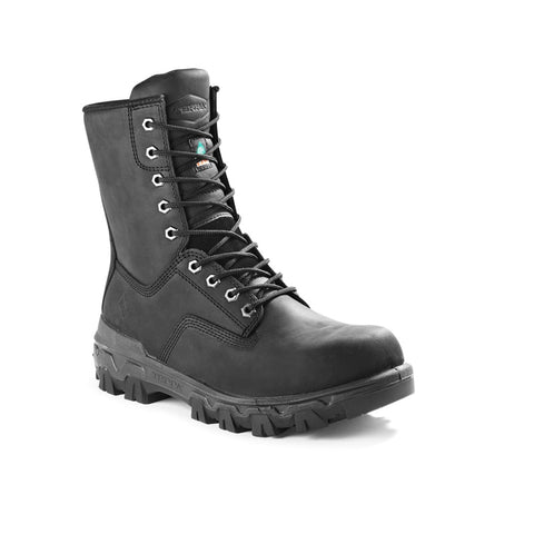 "Terra Sentry 2020 Men's 8"" Composite Toe Work Boot - Black - TR0A4NQFBLK"