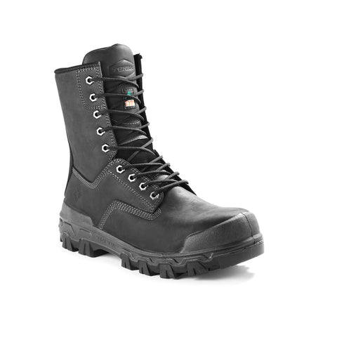 "Terra Sentry 2020 Men's 8"" Composite Toe Work Boot With Bumper Toe - Black"