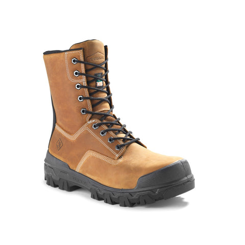 "Terra Sentry 2020 Men's 8"" Composite Toe Work Boot With Bumper Toe - Brown"