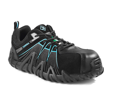 619b6171e3f6 Terra Spider X Women's Lightweight Composite Toe Athletic Work Shoe