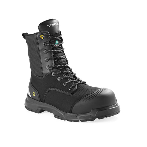 "Terra Technolite Men's 8"" Composite Toe Work Safety Boot"