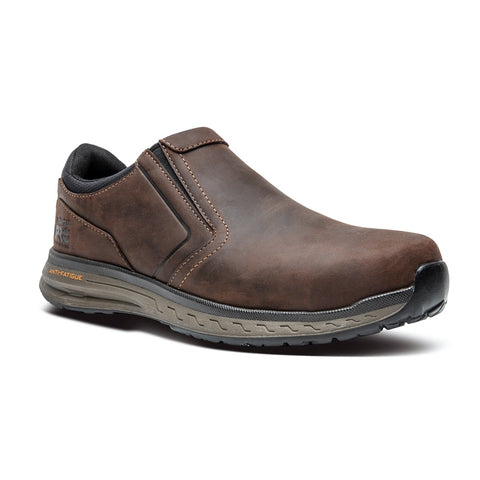 Timberland PRO Drivetrain Men's Composite Toe Slip On Work Shoe - Brown A21X7