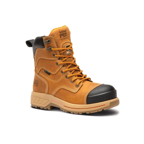 "Timberland PRO 8"" Endurance HD Women's Composite Toe Work Boot - tan"