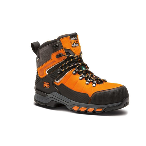 "Timberland PRO Hypercharge TRD 6"" Men's Composite Toe Work Safety Boot - Orange"
