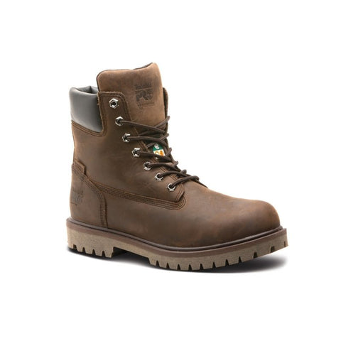 "Timberland PRO Iconic Men's 6"" Alloy Toe Safety Boot - Brown"