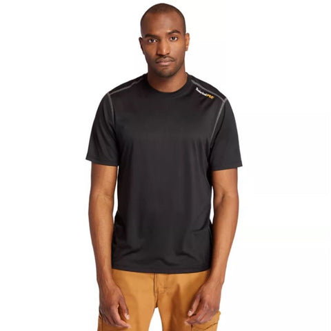 Timberland PRO Men`s Wicking Good Sport T-Shirt - BLACK TB0A1P1Z001