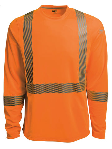 Timberland Pro High-Visibility Long-Sleeve T-Shirt - Orange