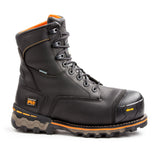"Timberland PRO Men's Black 8"" Boondock Composite Toe Safety Boot - black"