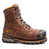 "Timberland PRO Men's 8"" Boondock Work Safety Boot - beige"