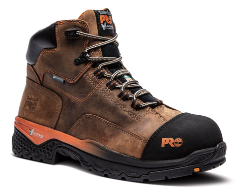 Timberland PRO Bosshog Men's Composite Toe Waterproof Work Boot - BROWN