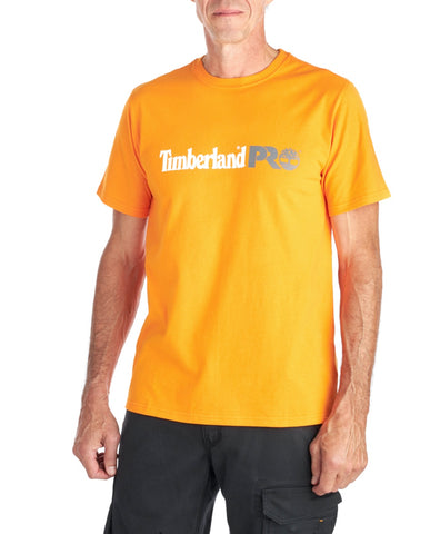 Men's Timberland PRO® Modern Short-Sleeve Cotton Core T-Shirt - Orange