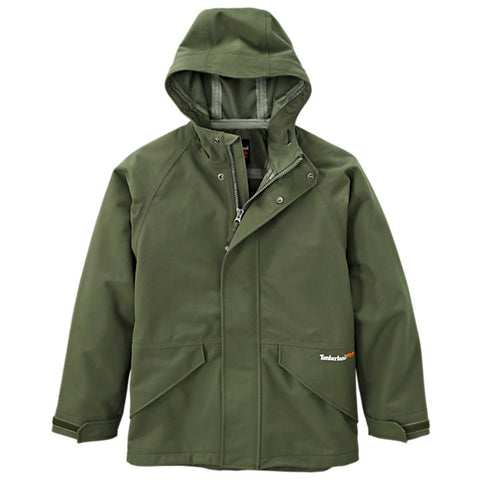 Timberland PRO Men's Dry Squall Waterproof Hooded Jacket - Green