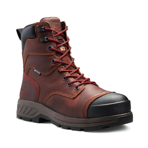 "Timberland PRO Endurance HD A1WWE 8"" Vibram Composite Toe Men's CSA Work Safety Boot - brown"