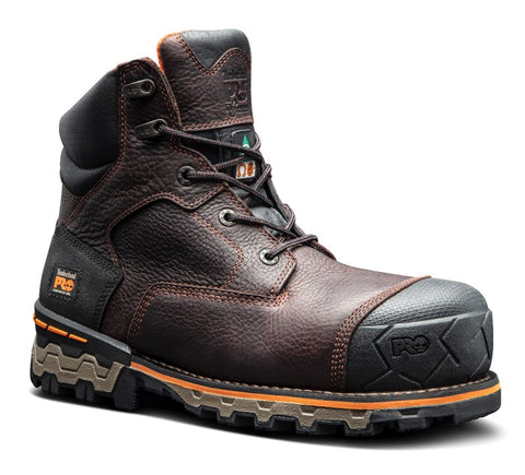 "Timberland PRO 6"" Boondock Unlined Men's Waterproof Composite Toe Work Boots"