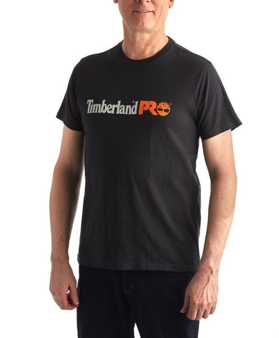 Men's Timberland PRO® Modern Short-Sleeve Cotton Core T-Shirt - Black