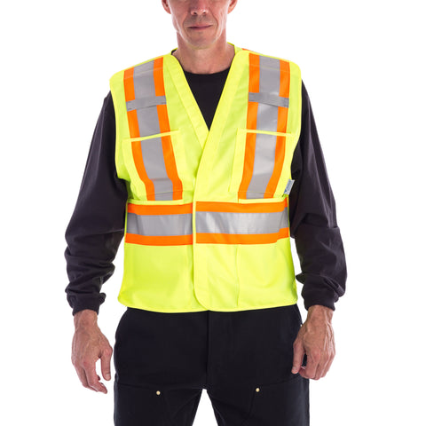 Viking High Visibility Safety Vest - Yellow
