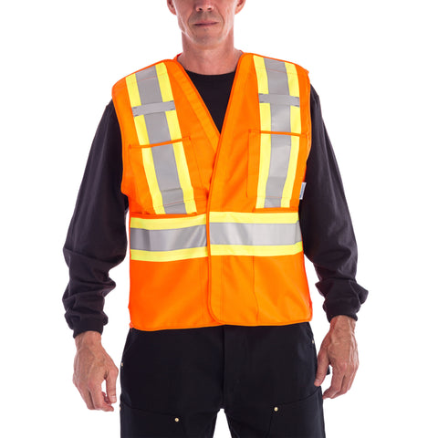 Viking High Visibility Safety Vest - Orange