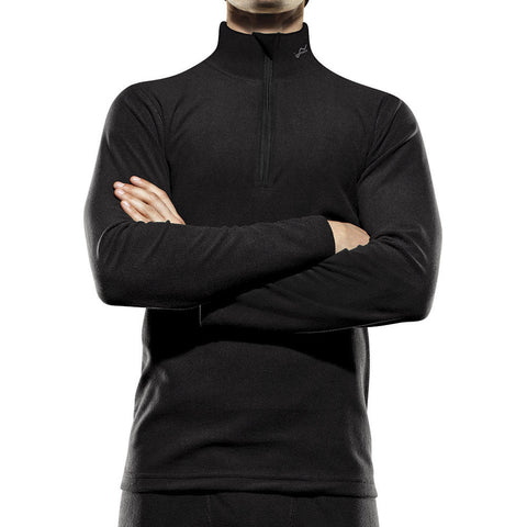 Watsons Microfleece Long Sleeve Zip Mock Neck