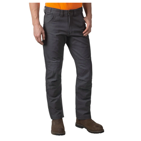 Walls Duck Ditchdigger PRO Double-Knee Men's Duck Work Pant YP833- Grey