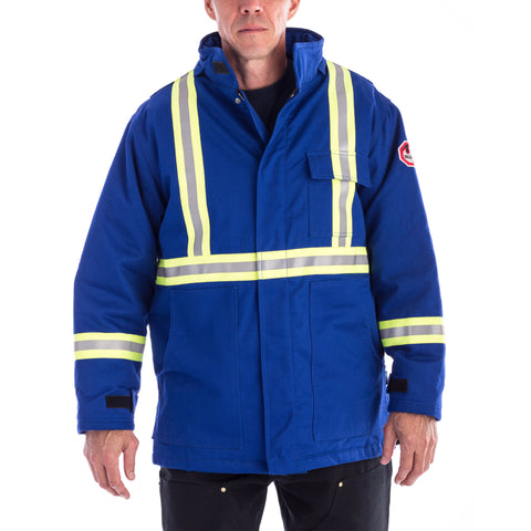 Walls 88/12 High Visibility Insulated Parka - Blue