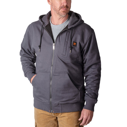 Walls Men's Core Full Zip Fleece Work Hoodie