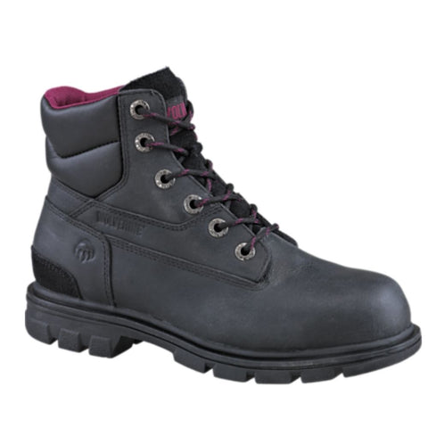 Wolverine Belle Pull-On Women's Steel Toe Work Boots - Black 47802