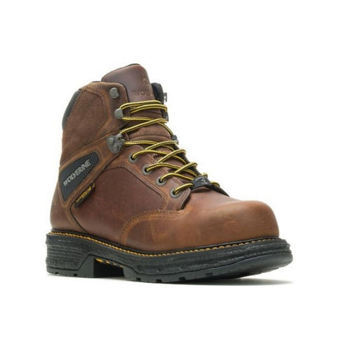 "Wolverine Hellcat Men's 6"" Composite Toe Work Boot - Brown"