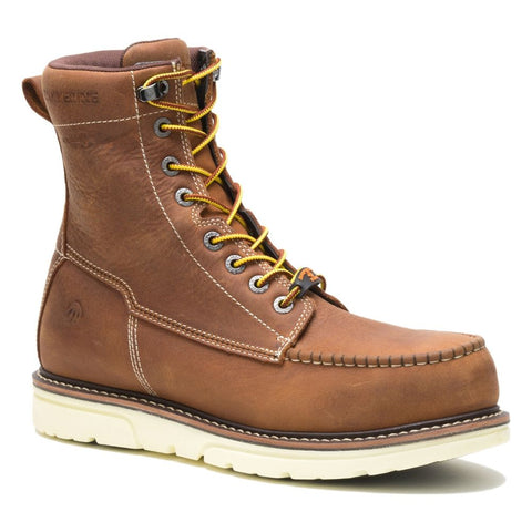 "Wolverine I-90 Durashocks Moc-Toe 8"" Waterproof Composite Toe Work Boot - Tan"