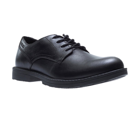 Wolverine Bedford Oxford Slip Resistant Lace-up Work Shoe